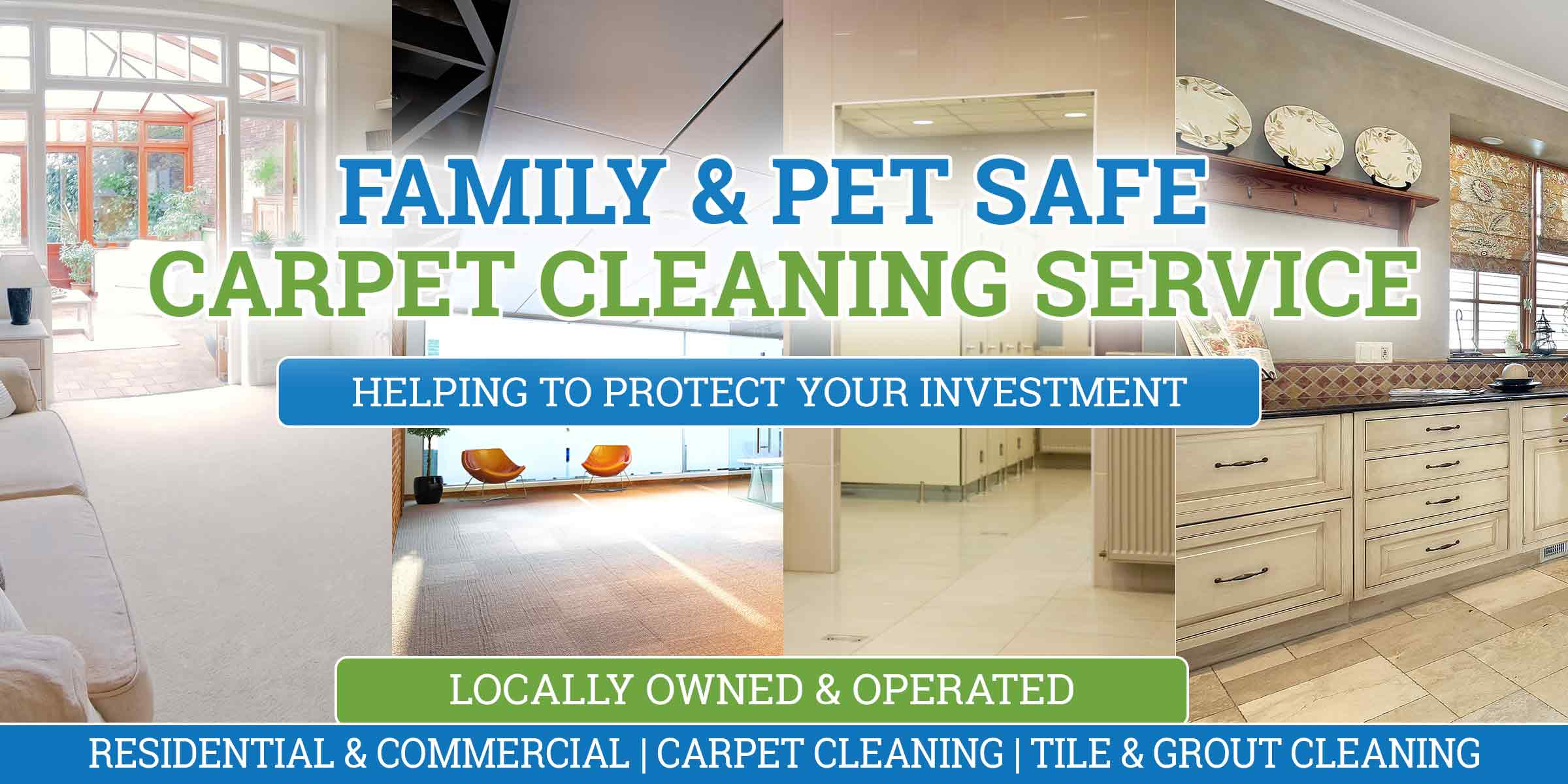 family and pet safe carpet cleaning service