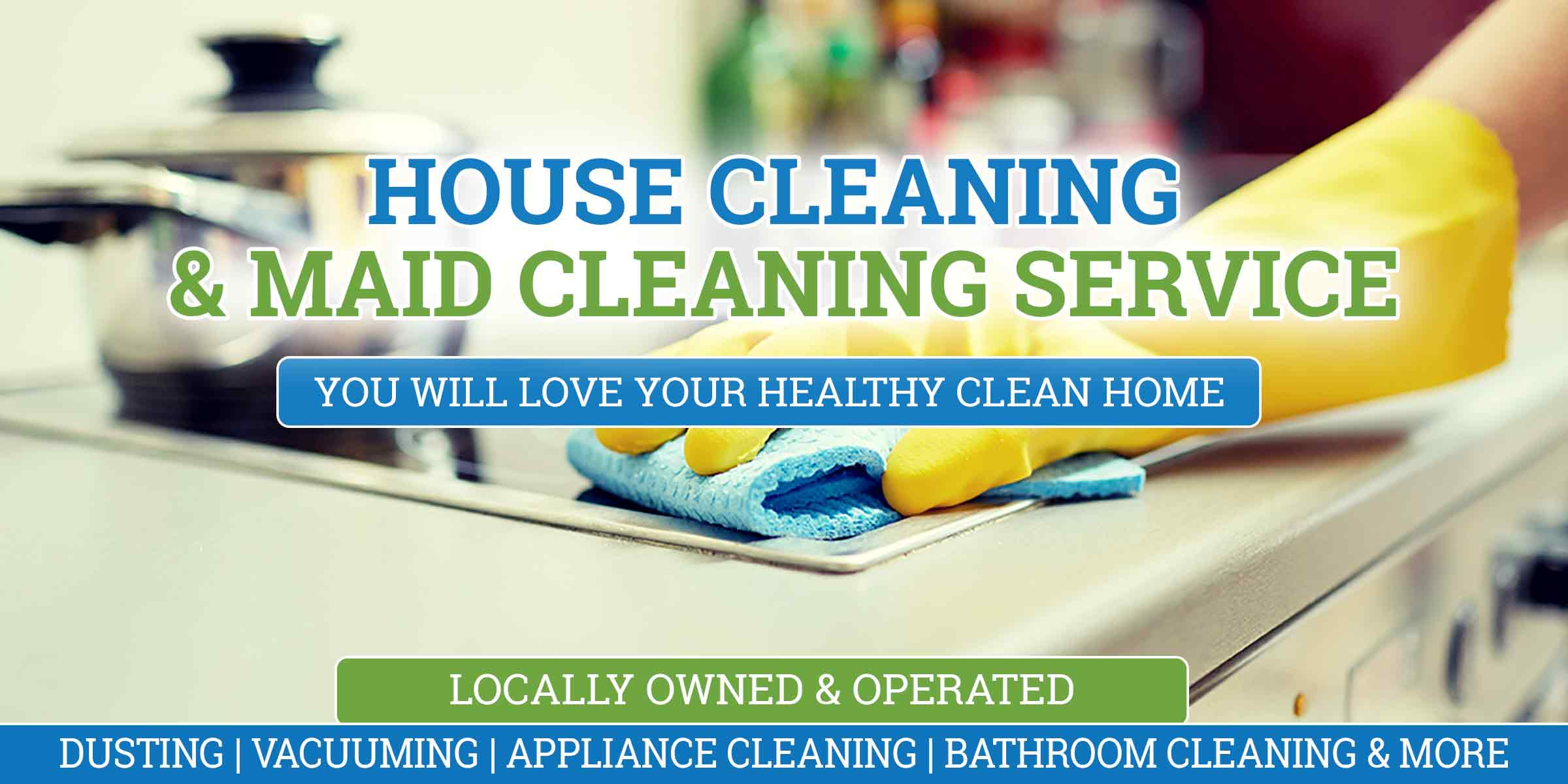 house cleaning and maid service in Tampa